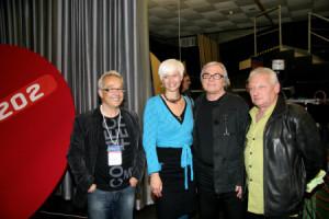 ŠTOS 2009 - MIHA KRALJ, BARBARA DRNAČ, LADO LESKOVAR in RADO BEZJAK